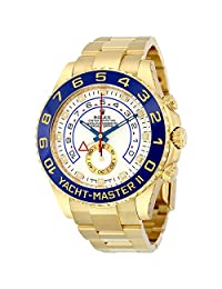Rolex Yacht-Master II 18K Gold Rolex Oyster Automatic Mens Watch 116688WAO