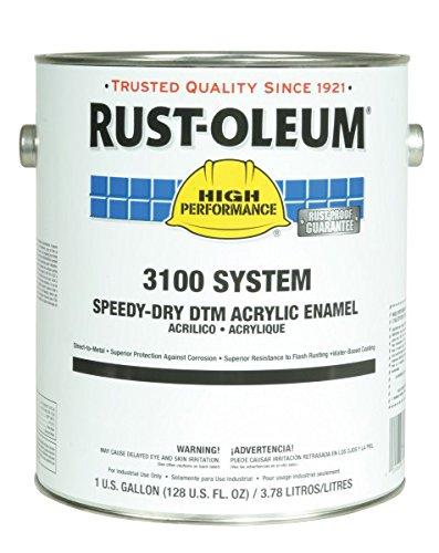 3100 Acrylic Enamel, Safety Yellow, 1 gal. by Rust-Oleum (Image #2)