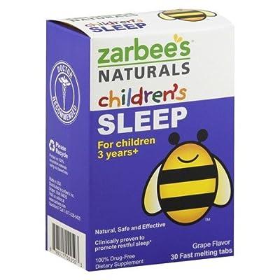Zarbee's Naturals Children's Sleep, 30 count