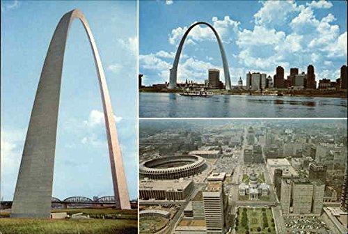 Gateway Arch, Jefferson National Expansion Memorial St. Louis, Missouri Original Vintage (Jeffersons Arch)