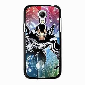 Hot Iron Man Phone Case Cover For Samsung Galaxy s4 mini Iron Man Fashionable