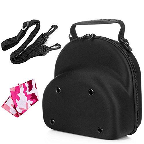 Baseball Hat Cap Carrier Case Ball Caps Holder Storage Organizer Bag for Travel Black Big for Men (Cap Carrier 2-3) by NEPPT