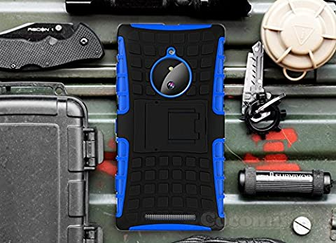 Nokia Lumia 830 Case, Cocomii Grenade Armor NEW [Heavy Duty] Premium Tactical Grip Kickstand Shockproof Hard Bumper Shell [Military Defender] Full Body Dual Layer Rugged Cover Nokia (Hard Case For Nokia Lumia 830)