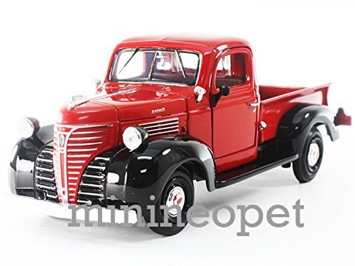 1941 Pickup - MOTORMAX 74278 1941 41 PLYMOUTH PICK UP TRUCK 1/24 DIECAST RED ,#G14E6GE4R-GE 4-TEW6W206345