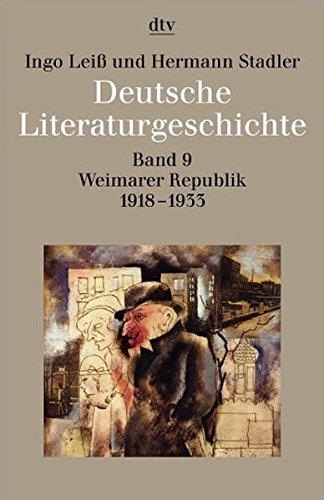 deutsche-literaturgeschichte-vom-mittelalter-bis-zur-gegenwart-in-12-bnden-band-9-weimarer-republik