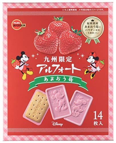 [큐슈 한정] 브루봉 디즈니 아루포  딸기맛 14매