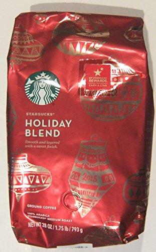 Starbucks Holiday Blend, Medium Roast Ground Coffee (1.75 lbs) (Medium Roast Starbucks Coffee compare prices)