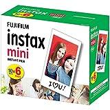 Filme Instantâneo Instax Mini Borda com 60 Poses, Fujifilm, Acessórios para Câmeras Digitais