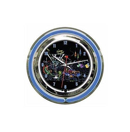 - Michael Godard Fine Art Lounge Lizard Clock (14 in.)