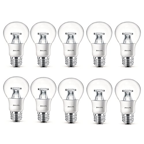 Philips LED Non-Dimmable Clear Light (Lamp 10k Fluorescent Compact)