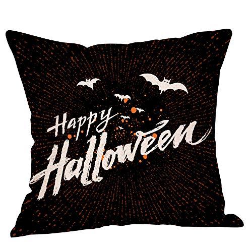 Halloween Pillows Cover,KIKOY Painted printing Fall Decor Sofa Throw Cushion Cover