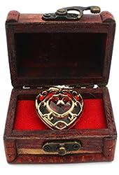 Handmade Skyward Sword Heart Container Necklace Pendant Keychain The Legend of Zelda Cosplay Props Z005