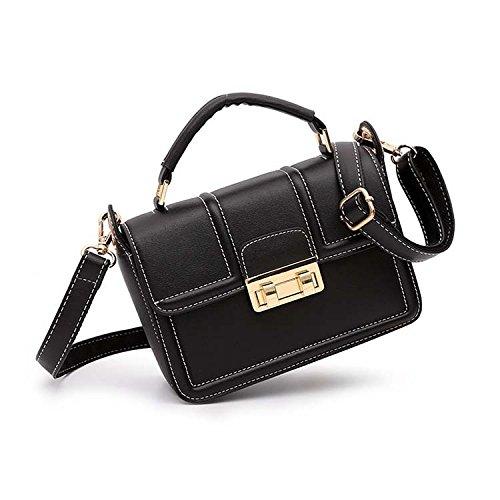 Bag Black Wlfhm Korean Messenger Bag Version Bag Shoulder Small w1xq8FxXSP