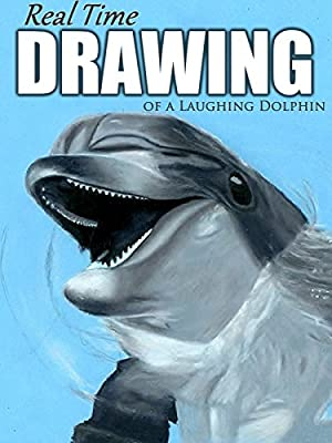 Real Time Drawing of a Laughing Dolphin