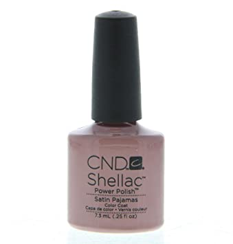 CND Shellac Nail Polish, Satin Pajamas, 0.11 lb.