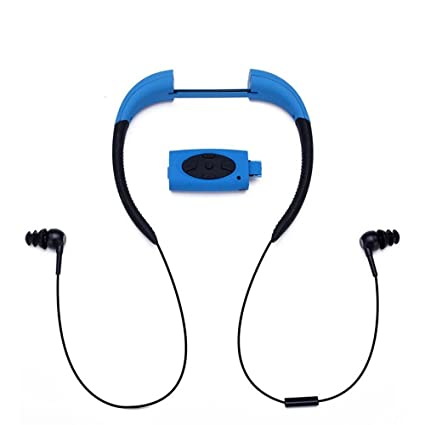 bdbb21c5a21 Image Unavailable. Image not available for. Color: Jennyfly Swimming  Bluetooth Headset ...