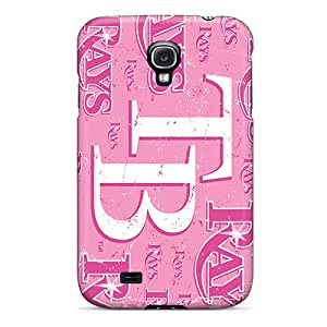 KennethKaczmarek Samsung Galaxy S4 Shockproof Cell-phone Hard Covers Allow Personal Design Trendy Tampa Bay Rays Skin [Ers9891VkCl]