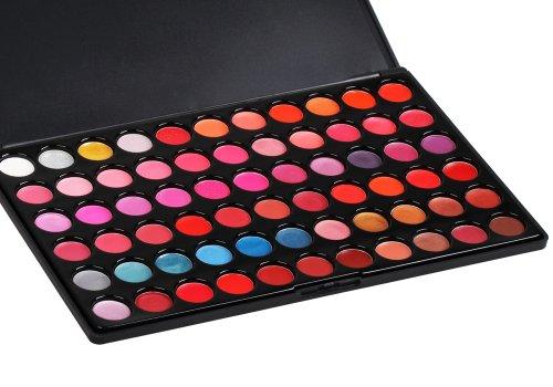 Bundle Monstre 66 Professional Couleur Lip Gloss à lèvres cosmétique de maquillage Palette