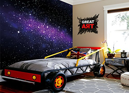 Wallpaper Stars U2013 Wall Picture Decoration Childrens Room Outer Space Sky  Galaxy Universe Cosmos Starry Sky Milky Way Super Nova | Paperhanging  Wallpaper ...