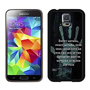 Samsung Galaxy S5 I9600 Case ,Unique And Fashionable Designed Case With The Elder Scrolls V Skyrim Black For Samsung Galaxy S5 I9600 Phone Case