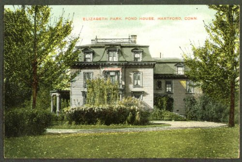 Astonishing Amazon Com Elizabeth Park Pond House Hartford Ct Postcard Download Free Architecture Designs Scobabritishbridgeorg