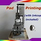New Pad Printing Machine Manual Pad Priter Pen Ball Label PVC Mug DIY Gift Logo