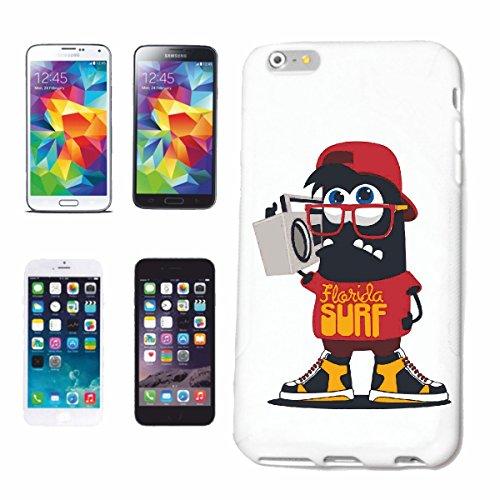 caja del teléfono Huawei P9 FLORIDA SURF Surf Beach TABLAS DE SURF LAS ONDAS DE LONGBOARD Beginner Shop Caso duro de la cubierta Teléfono Cubiertas cubierta para el Apple iPhone en blanco