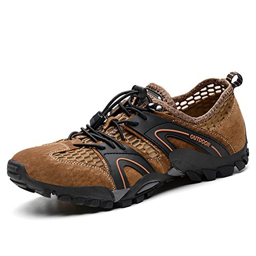 Hollow Climbing Originals Casual Pigskin Suede Shoes Brown Men's Zzq6xOxg