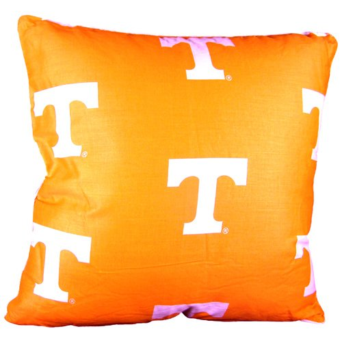 College Covers Tennessee Volunteers 16'' x 16'' Decorative Pillow - (Includes 2 Decorative Pillows)