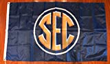 SEC Southeastern Conference Football Man Cave Banner Flag 3 ft by X 5 ft Fan Decor