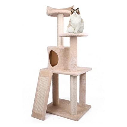 Árbol de gato Marco de Escalada de Gato Gato de Cuatro Capas Marco de Gato de