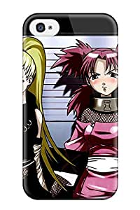 Tpu ZippyDoritEduard Shockproof Scratcheproof Naruto Girls Lineup Hard Case Cover For Iphone 4/4s