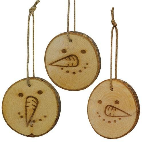 Heart of America Assorted Whimsy Snowman Tags - Set of 3