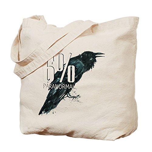 CafePress–�?% de Paranormal barato Gear–Gamuza de bolsa de lona bolsa, bolsa de la compra
