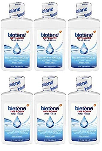 - Biotene Dry Mouth Mouthwash 2 Oz Travel Size (Pack of 6)