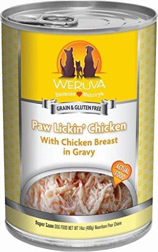 Amazon.com : Comida para perros, de la pata Lickin pollo, latas de 14 onzas (paquete de 12) : Pet Supplies