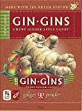 The Ginger People Gin Gins Ginger Candy Chewy - Spicy Apple, 84 g