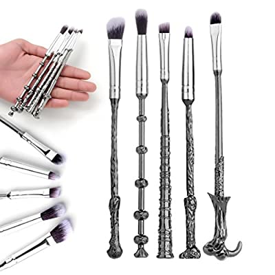 2017 Valentine's Day Gift Harry Potter Fans Brush Harry Potter Wizard Wand Make up Brush Set