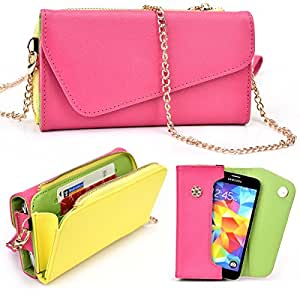 Nokia 808 PureView Two Tone Clutch with Shoulder Strap - More Colors Available!
