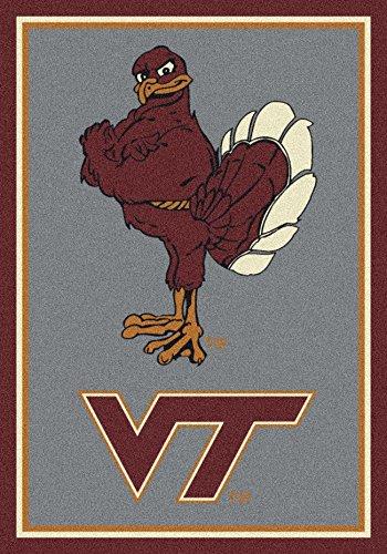 (Ship from USA) 2x4 Milliken Virginia Tech Hokies NCAA Spirit Area Rug - Approx 2'8