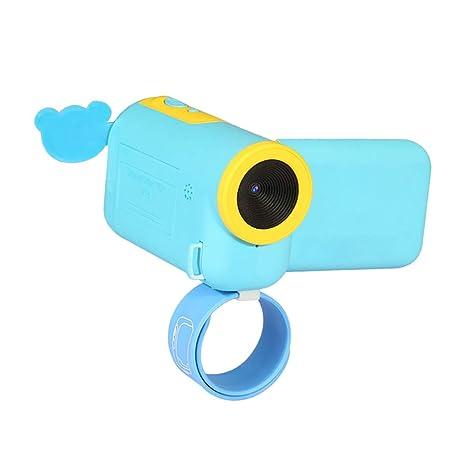 Sharplace Compacto Digital Niños Juguete Cámara Videocámara Video Grabadora Mini - Azul