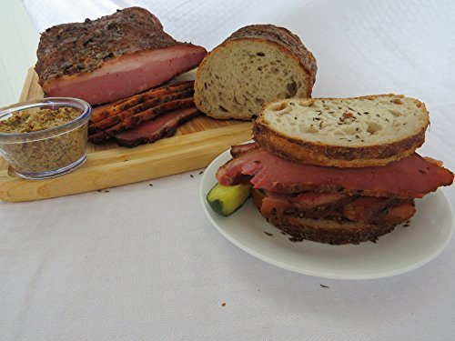 Vienna Beef Fumare Meats Montréal-Brand Smoked Pastrami Brisket (Approx 7-10LBS)