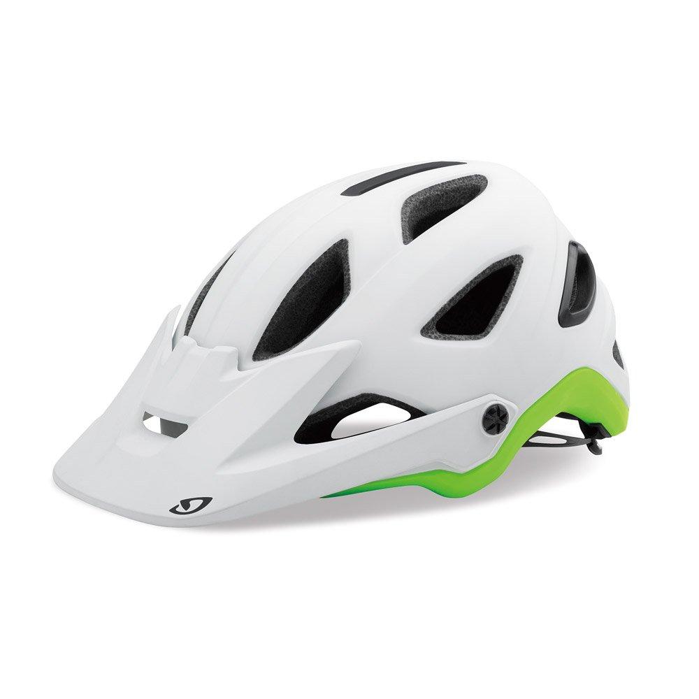 GIRO(ジロ) 自転車ダートヘルメット モンタロ ミップス MONTARO MIPS/MTB用オールラウンドモデル 【日本正規品/2年間保証】 Medium マットホワイト×ライム B077XN55WS