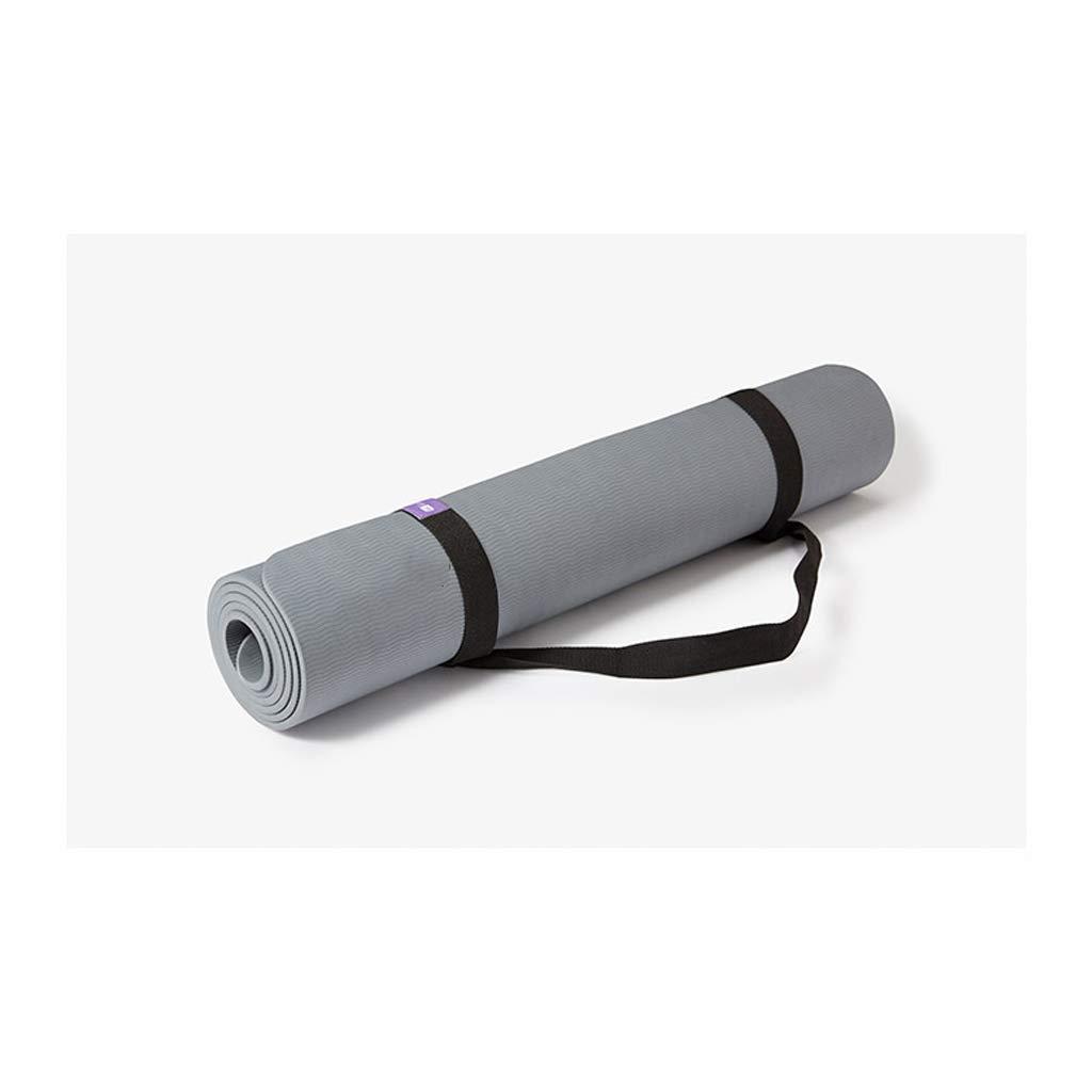 MEIDI Home Rutschfeste Sport Tragbare Lange Herren Yogamatte 80cm Doppelseitige, geruchlose Yogamatte