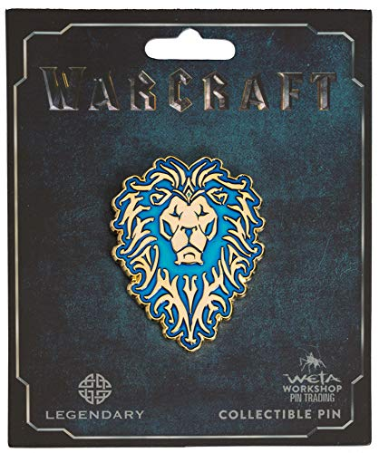Weta Workshop World of Warcraft Alliance Icon Collector's Pin