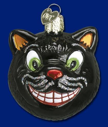 GRINNING CAT Halloween Ornament Old World Christmas (Halloween De Mister Jack)