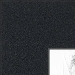 ArtToFrames 16x20 /  16  x  20 Picture Frame Satin Black ..  2'' wide (WOMFRBW74)
