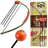 Bullseye Bow Kids Bow and Arrow Set Beginner Archery Toy Orange Camo Training Kit