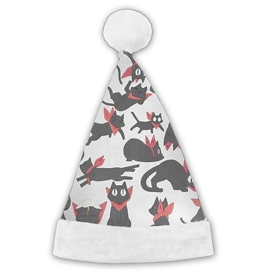 Amazon.com: Anime Nichijou Sakamoto Scarf Christmas Hat Velvet Santa ...