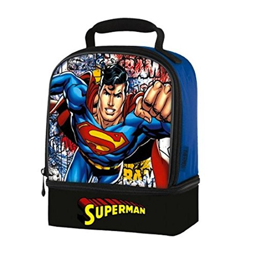 Superman Thermos Dual Compartment Lunch